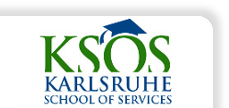 Logo Karlsruhe School of Services (KSOS)